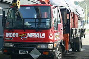 Ingot Metals Hiab Truck